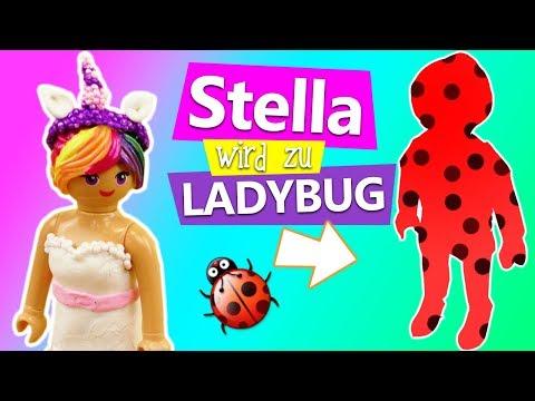 Playmobil DIY Deutsch | Stella als... Ladybug DIY | Krasse Veränderung | Neuer Look