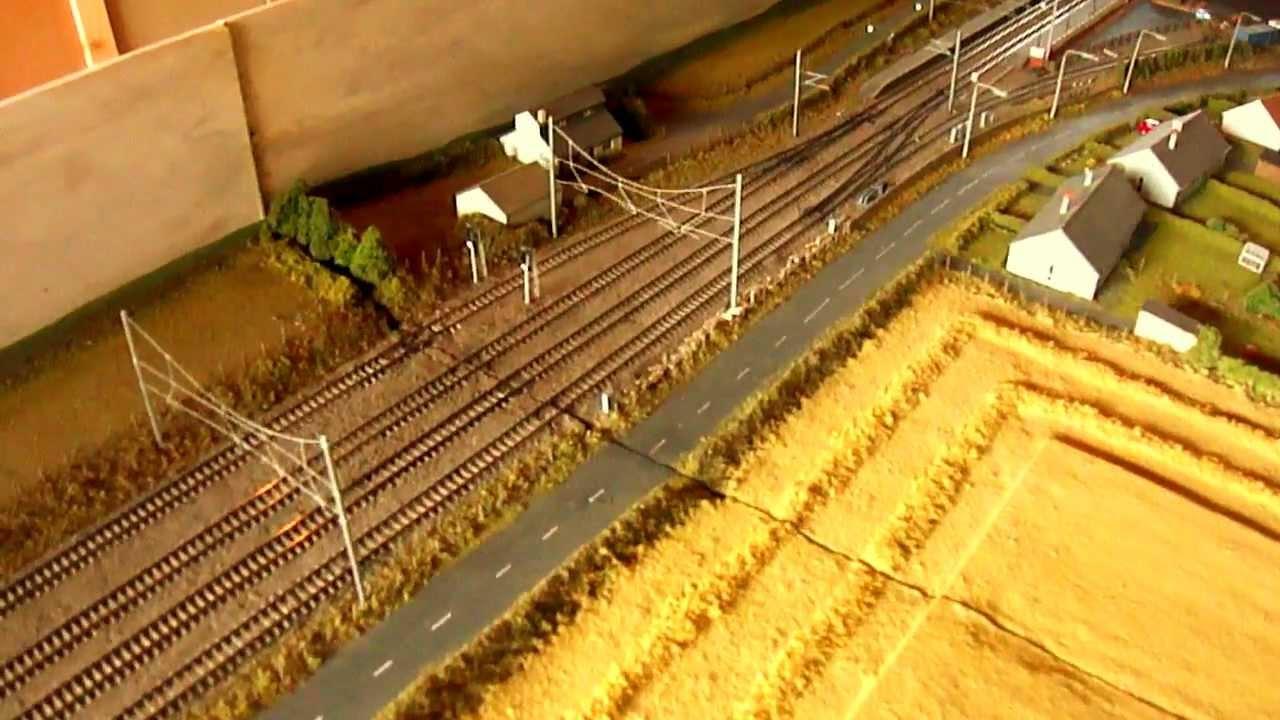 Modern Image N Gauge Model Railway Layout Quot Drem Quot Youtube
