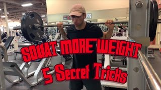 5 Tips to Squat Heavier Weight
