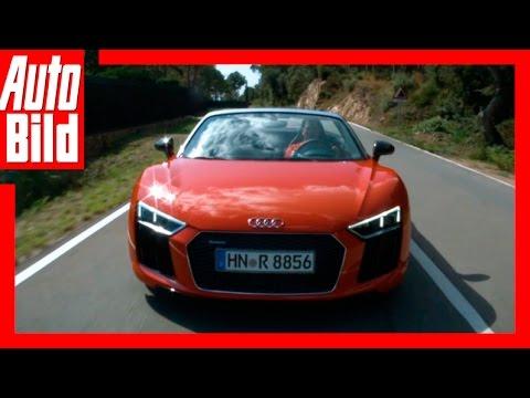 Fahrbericht: Audi R8 Spyder / 2017 / Runter Mit Dem Dach! / Review / Testfahrt