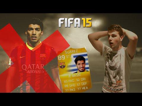 NO LUIS SUAREZ AT THE START OF FIFA 15?!