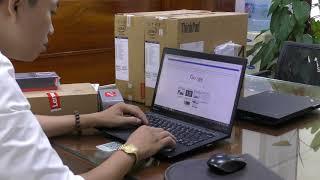 Hướng dẫn kiểm tra Laptop Lenovo thinkpad chính hãng check bảo hành