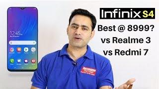 infinix s4 Best phone under 9000 ?? vs Realme 3 vs Redmi 7 |