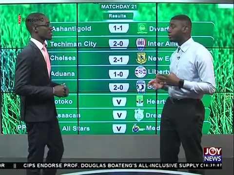 Ghana Premier League - Joy Sports (25-7-16)