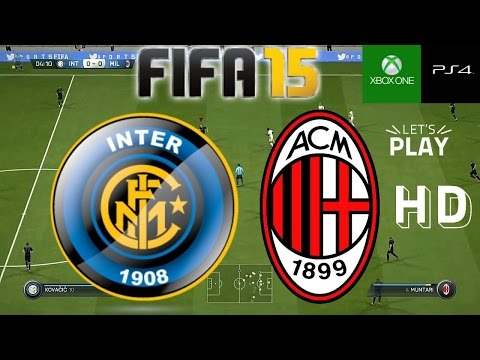FIFA15 Gameplay Inter vs AC Milan - Mas impresiones