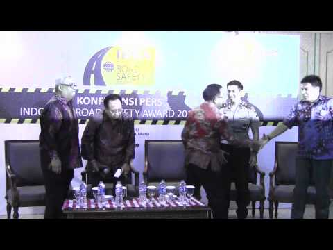 Indonesia Road Safety Award 2013: Konferensi Pers