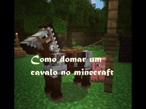Como domar um cavalo no Minecraft 1.7.2 1.7.5 1.7.9