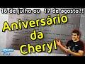 Aniversário da Cheryl é 16 de Julho ou 17 de Agosto?