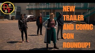 DOCTOR WHO SERIES 11 NEWS - NEW TRAILER AND COMIC CON ROUNDUP!