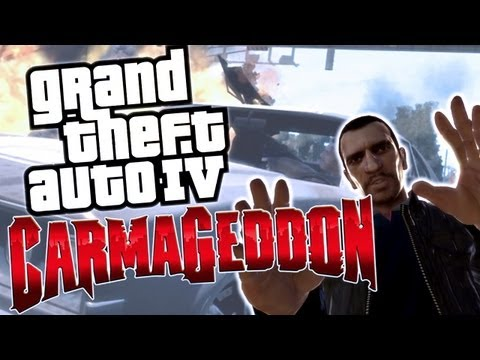 GTA IV - Carmageddon (Funny Moments!)