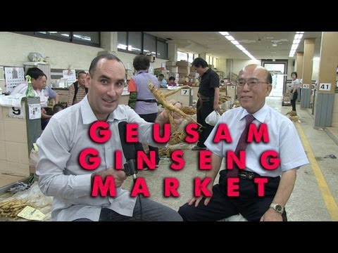 Geusam Ginseng Market, Interview with Dr ...