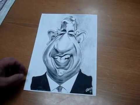 como se faz uma caricatura