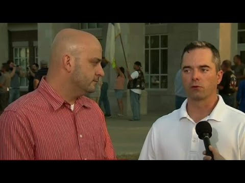 Same-sex couple receives Rowan County marriage license