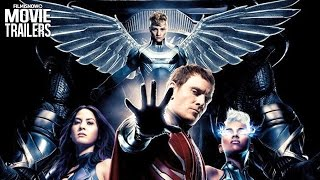 Meet the Four Horsemen - Storm, Angel, Psylocke, Magneto from X-MEN: APOCALYPSE [HD]