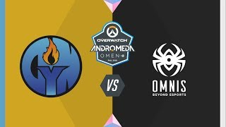 #OWAndromeda Playoffs Vitoria | Dynaim Pro vs Omnis | Overwatch Andromeda OMEN by HP