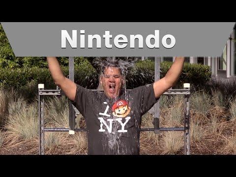 Nintendo - ALS Ice Bucket Challenge