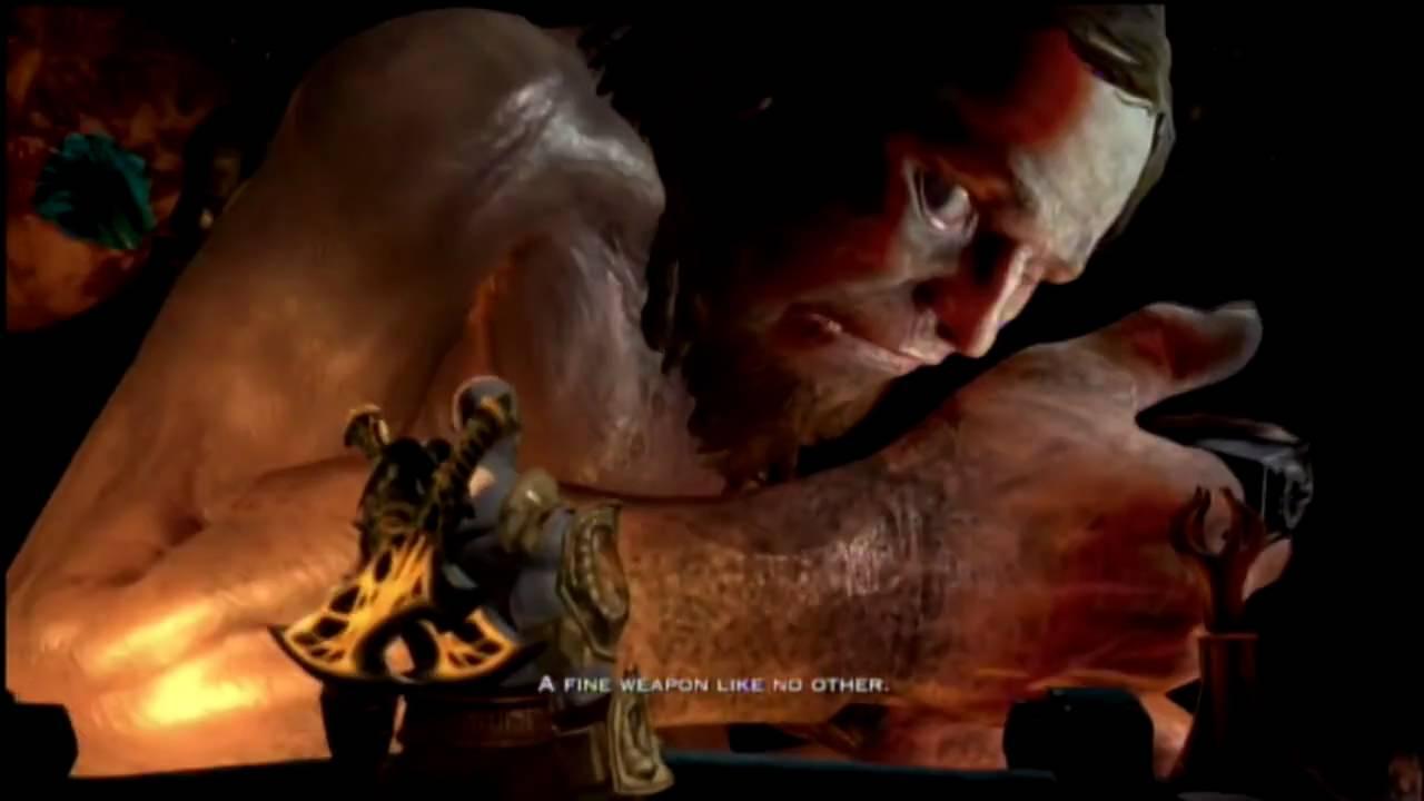 God of war 3 modo dios parte 28 kratos vs hefestos hd for God of war 3 jardines superiores