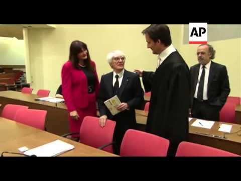 Bernie Ecclestone's bribery trial begins in Munich