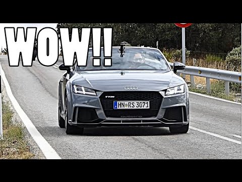 2017 AUDI TTRS: INSANE SPORTS EXHAUST!!