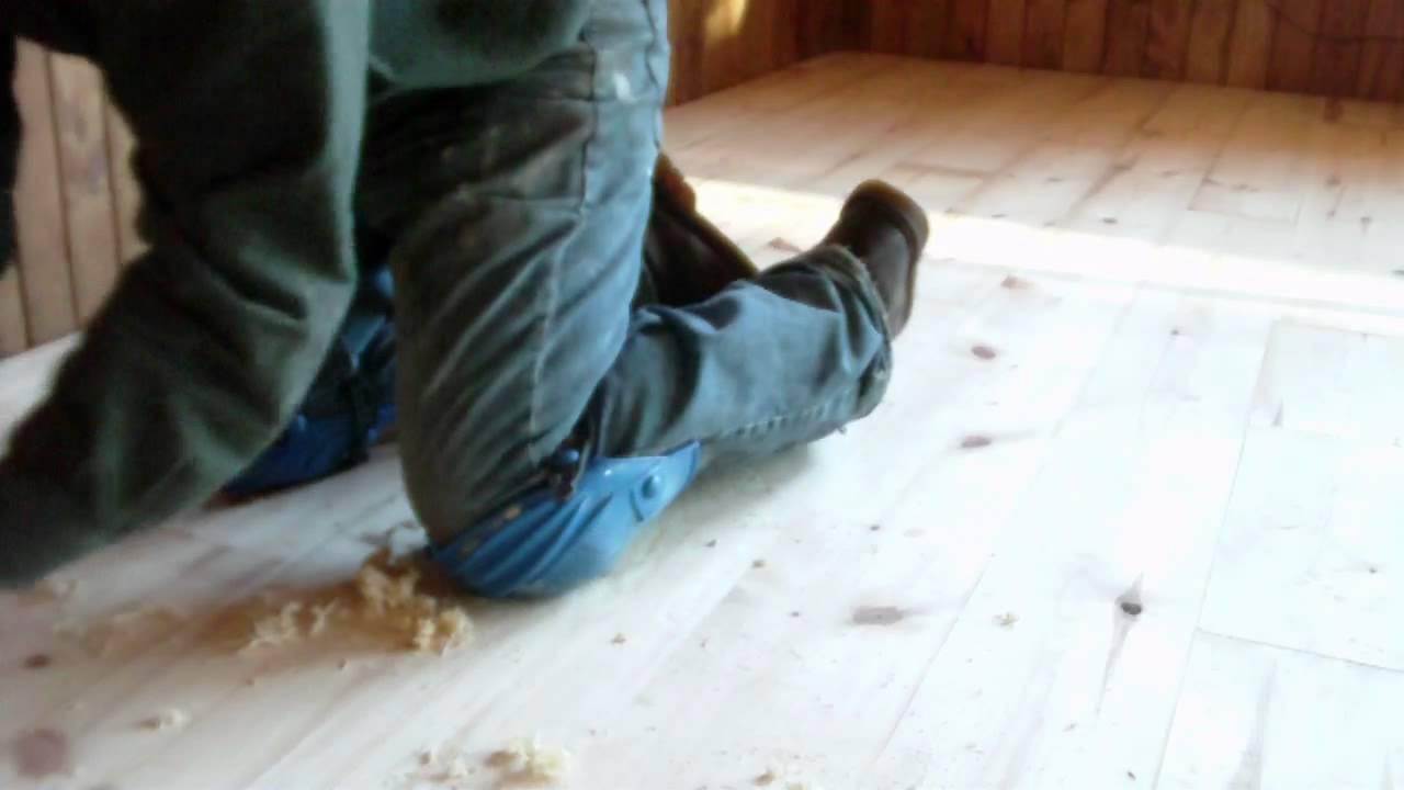 Making Hand Scraped Hardwood Floors Shine Again : Hand Scraped Wood Flooring Part 1 - YouTube