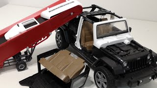 Police Car, Crane, Construction, Building Block for kids, Toy Vehicles for Children, ASRM No Talking