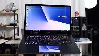 Laptop with 2 Screens - ASUS Zenbook Pro 15 UX580GE