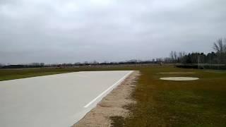 Kangaroo RC Landing Jet Munt Merlin 90