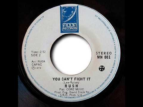 Rush - You Cant Fight It