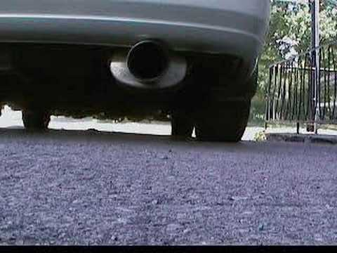 Nissan Altima OBX Headers + OBX CatBack + Injen = SOUND Video