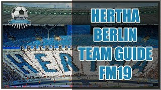 FM19 Hertha Berlin Team & Tactics Guide - Football Manager 2019
