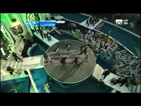 110707 - Break Down & Dancing In The Waterkim Hyun Joong In Mnet 20's Choice Awards 2011 video