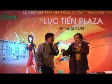 Hài Giang Còi - Quang Tèo trong lễ khai trương TTTM Ba Vì Lực Tiến Plaza