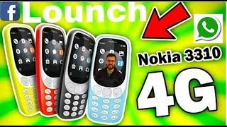 Nokia 3310 4G Launched with VoLTE   Jio Phone Comparison  WhatsApp Facebook Support