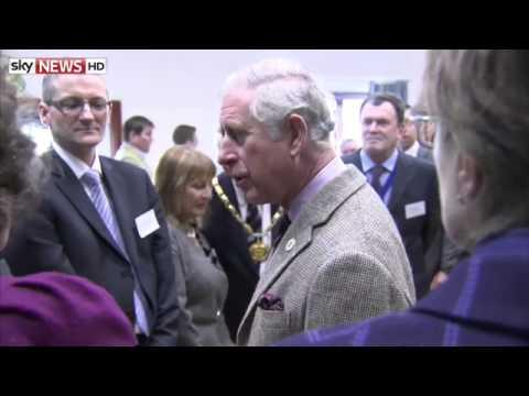 Prince Charles Sees Flood Woe in Somerset