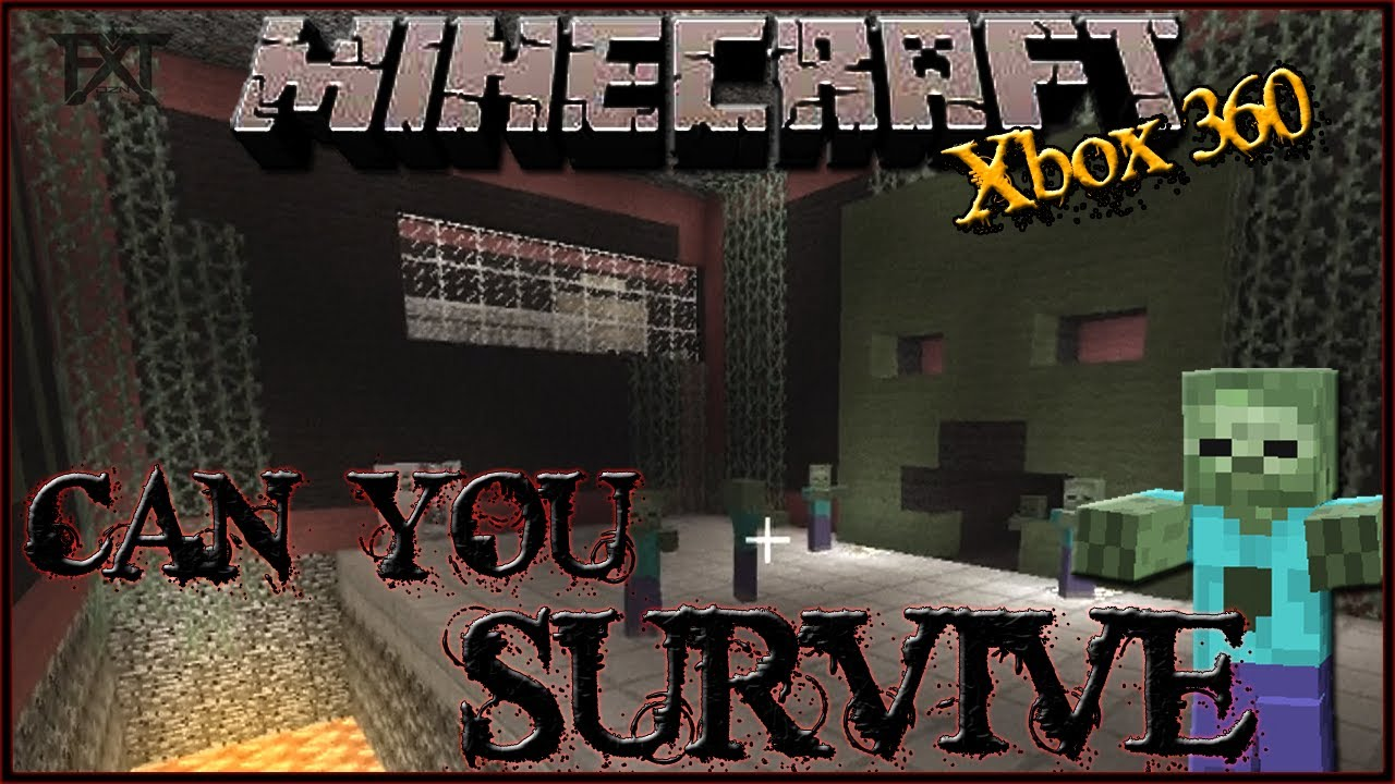 Zombie Games For Xbox 360 : Quot minecraft xbox my zombie survival game youtube
