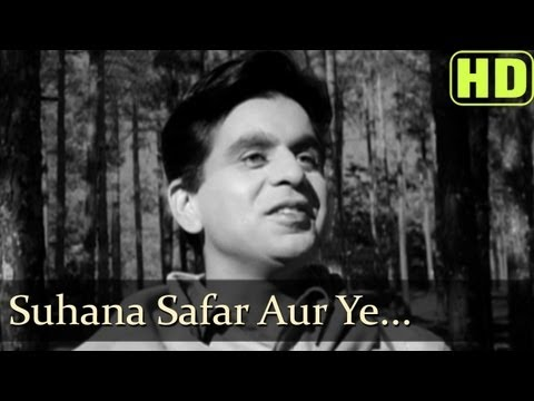 Suhana Safar Aur Ye - Madhumati Songs - Dilip Kumar - Vyjayantimala - Mukesh video