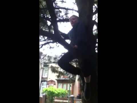 Tree climbing with ethan dobson and bailey lyth part 1