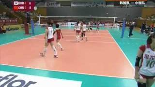 100921 2nd Asian Cup CHN vs KOR 1/6