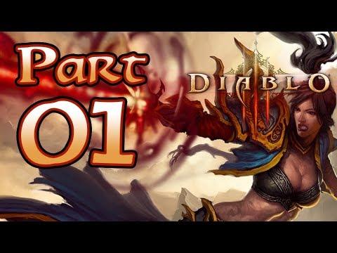Diablo 3 III Gameplay – Wizard Class Pt 1