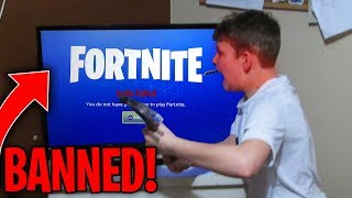 Top 10 Kids WHO GOT BANNED FROM FORTNITE!