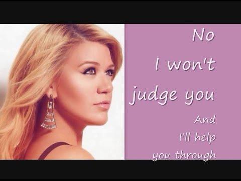 Kelly Clarkson - Let Your Tears Fall [Lyrics]