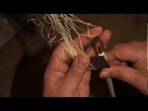 Вяжем сеть своими руками фото