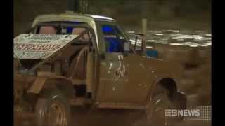 Mud Racing NT Titles Australia 2014