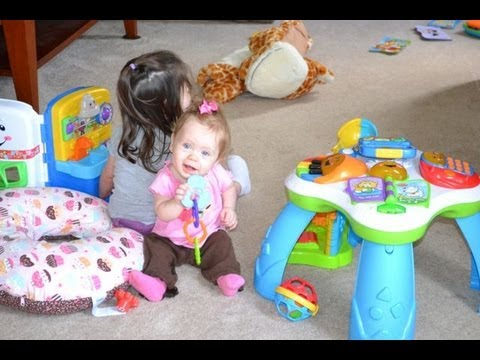 Day in the Life: Stay at home Mommy 2 year old Toddler &amp; 8 month old Infant