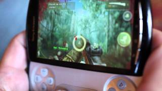 Xperia PLAY games shown at E3 2011