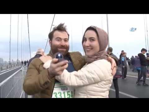15 Temmuz Şehitler Köprüsü'nde Evlilik Teklifi