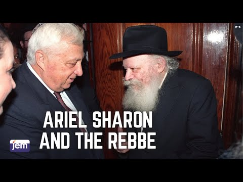 Ariel Sharon and the Rebbe