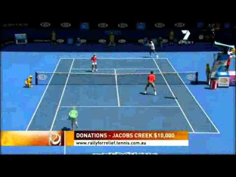 Australian Open 2011 Rally for Relief Highlights