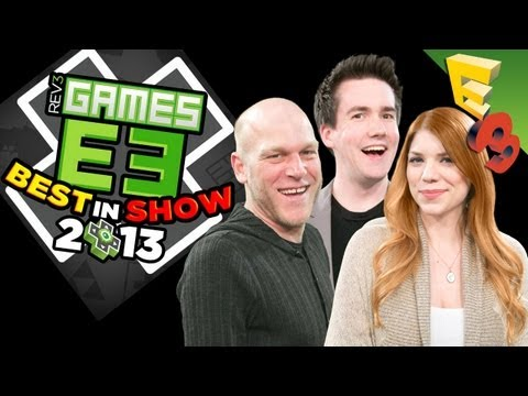 Rev3Games BEST OF E3 AWARDS! Adam, Max and Tara Pick Their Favorite Games of E3 2013