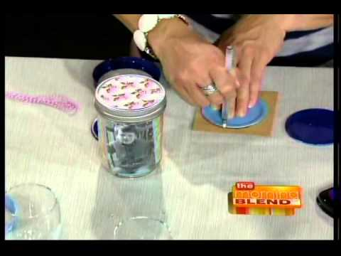 Mason jar craft ideas from country woman magazine youtube for Country woman magazine crafts